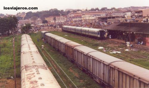 Estacion de Trenes en Kumasi - Ghana Kumasi Railway Station- Ghana