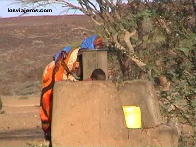 Waterhole - Kenya Pozo - Kenia