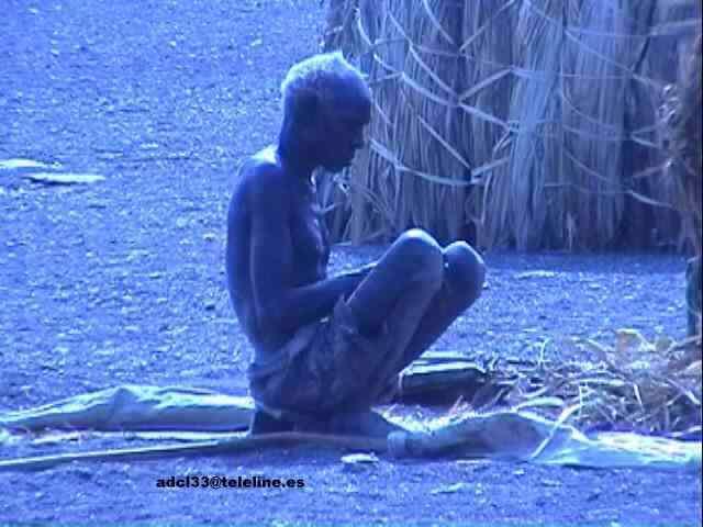 Old man - Kenya El Molo - Kenia