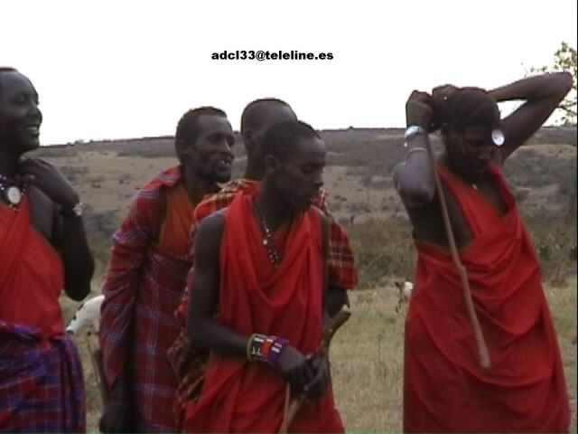 Masai men - Kenya Guerrero Masai - Kenia