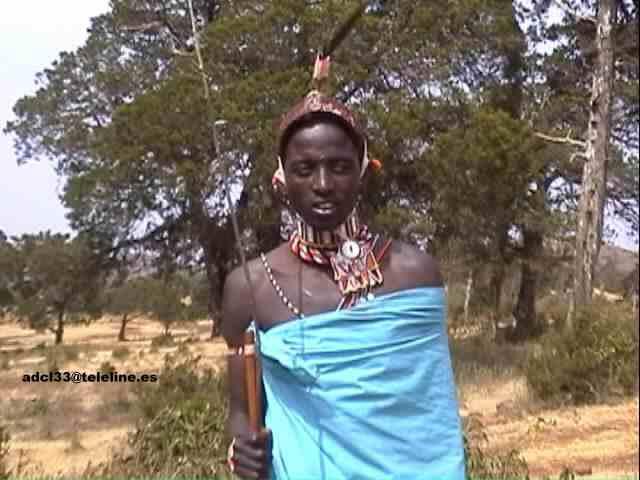Samburu Warrior - Kenya Guerrero Samburu - Kenia