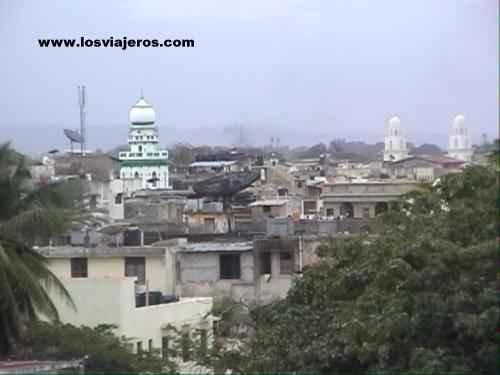 General view of Mombasa - Kenya Vista de la ciudad de Mombasa - Kenia