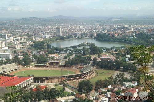 General view -Antananarive- Madagascar Vista general -Antananarivo- Madagascar