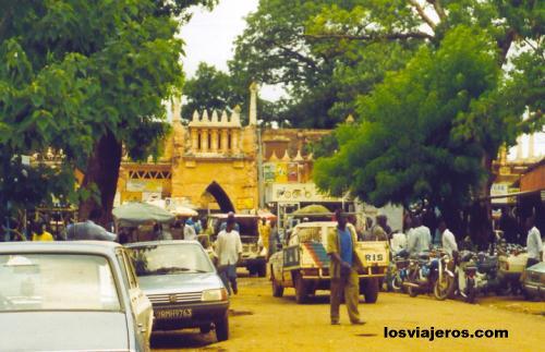 Calles de Bamako - Capital de Mali Streets of Bamako - Mali