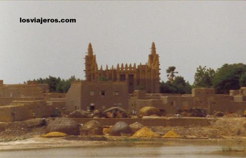 Gran mezquita de Mopti - Mali Gran mezquita de Mopti - Mali