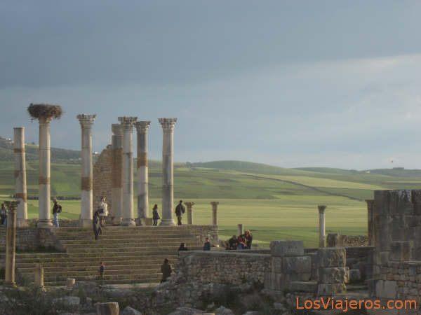 Roman ruins of Volubilis - Morocco Ruinas romanas de Volubilis - Marruecos