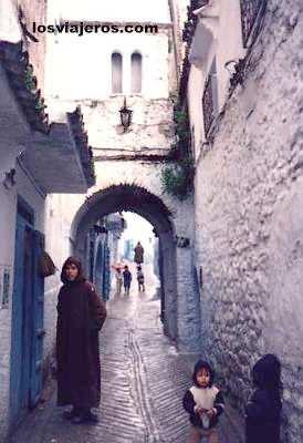 Calles de Chef Chauen - Morocco Calles de Chef Chauen - Marruecos