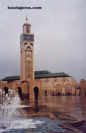 Mezquita de Mohamed V en Casablanca - Morocco Mezquita de Mohamed V en Casablanca - Marruecos
