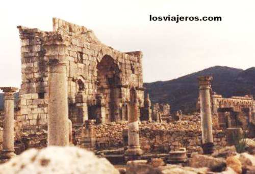 Ruinas Romanas de Volubilis - Marruecos