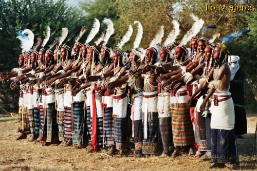 Fiesta Gereewol -Tribu Bororo- Niger Gereewol party - Bororo Tribe -Niger