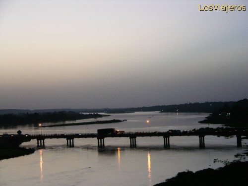 Sunset over the river - Niamey -Niger Atardecer en el rio Niger -Niamey