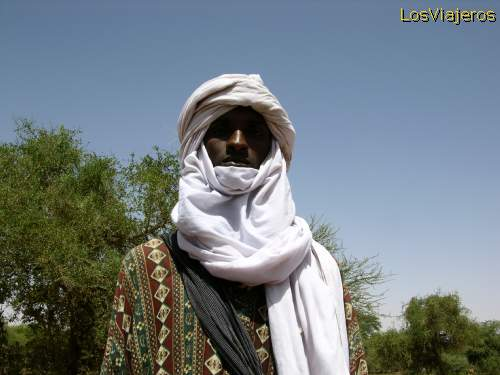 Shepherd Bororo in Gereewol celebration -Ingal (sahel). - Niger Bororo en fiesta Guerouel -Ingal (sahel) - Niger