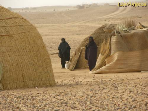 Touareg village- Niger Poblado Tuareg - Niger