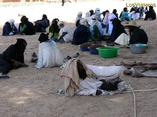 Tuareg funeral - Timia - Niger Funeral Tuareg en Timia - Niger