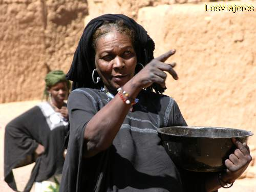 Tuareg woman - Niger Mujer Tuareg- Timia -Niger