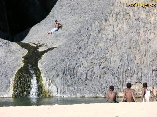 Springs in the Air Mountains - Niger Manantial en Timia - Niger