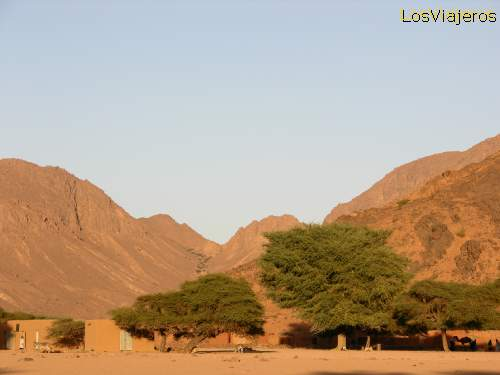 Timia - Air Mountains - Niger. Timia - Montes del Air -Niger