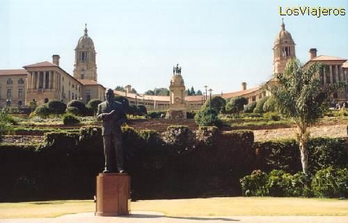 Parliament buildings - Pretoria - South Africa vista de los edificios del Parlamento - Pretoria - Sud Africa