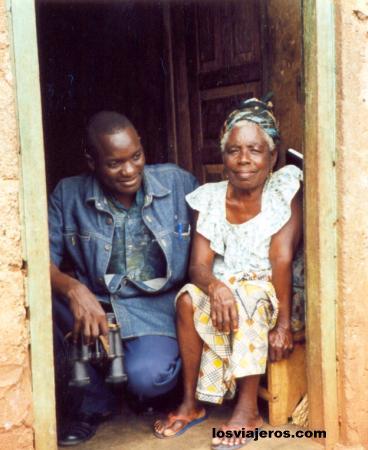Grandmother & grandson - Kpalime - Togo Grandmother & grandson - Kpalime - Togo