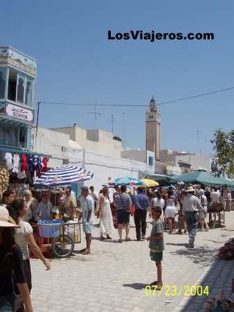 Typical Marquet - Nabeul - Tunisia Mercadillo de Nabeul - Tunez
