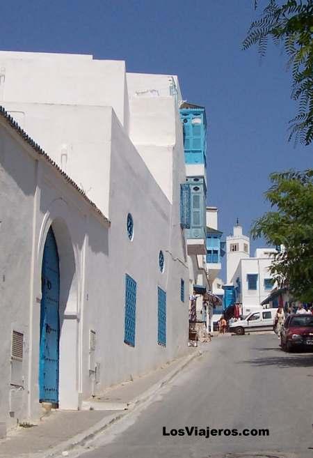 Streets - Sidi Bou Said - Tunisia Calles - Sidi Bou Said - Tunez
