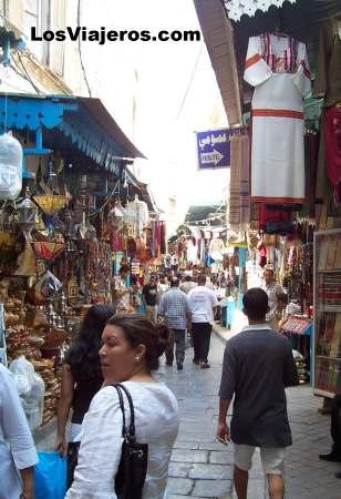 Old Market of the Capital  - Tunisia Zoco de la capital - Túnez - Tunez