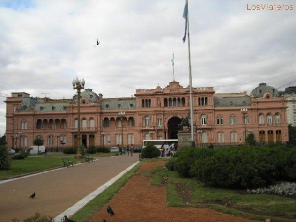 Casa Rosada - Ciudad de Buenos Aires - Argentina The Pink House - Buenos Aires - Argentina