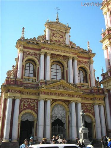 The Church of St. Francisco - Salta - Argentina Catedral de San Francisco - Salta - Argentina