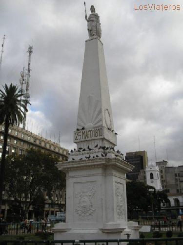 city of Buenos Aires - Argentina Pirámide de Mayo - Buenos Aires - Argentina