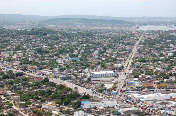 Pedro Heredia avenue - Colombia Avenida de Pedro de Heredia - Cartagena de Indias - Colombia