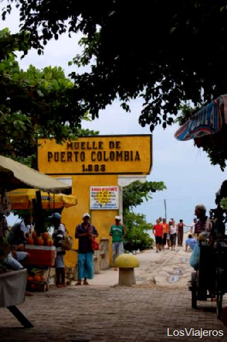 Wharf Puerto Colombia in Barranquilla Puerto Colombia - Barranquilla