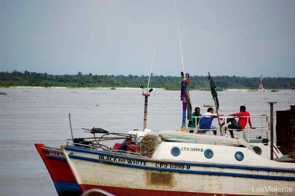 Rio Magdalena - Barranquilla - Colombia Magdalena river - Colombia