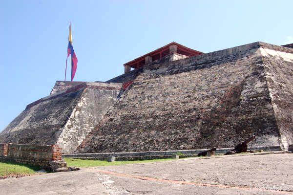 San Felipe de Barajas castle - Colombia Castillo San Felipe de Barajas - Cartagena de Indias - Colombia