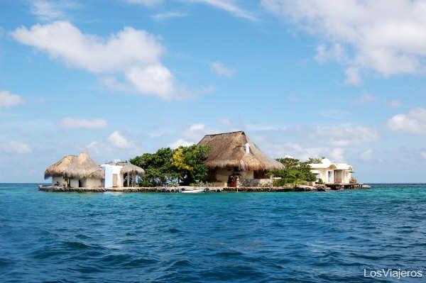 Islas del Rosario - Cartagena de Indias - Colombia Islands of the Rosario in Cartagena - Colombia