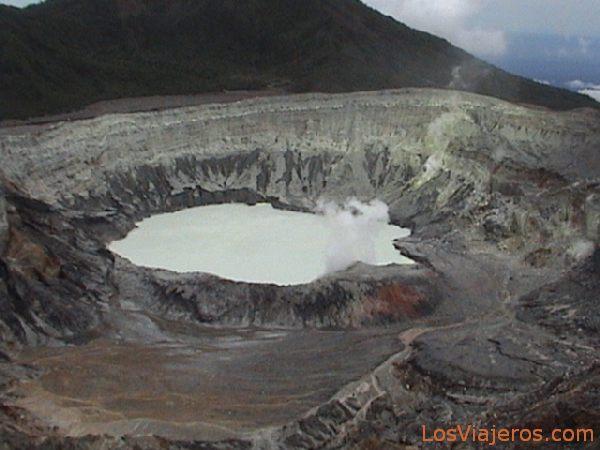Crater del Volcán Poás - Costa Rica