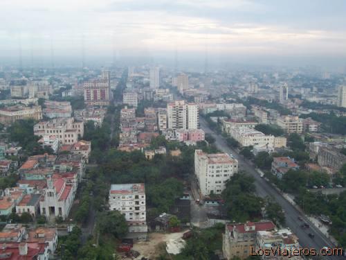 Vista general de la Habana -Cuba