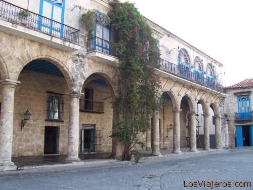 Cathedral square -Old Havana- Cuba Plaza de la Catedral en La Habana Vieja -Cuba