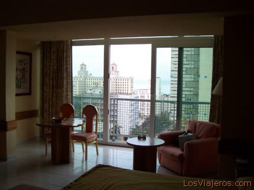 View from the Havana Libre Hotel - Cuba Vistas desde el Hotel Habana Libre -Cuba