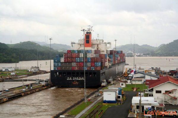 Panama Canal Canal de Panamá - Panama