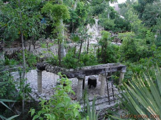 Maya settlement - Mexico Poblado Maya - Mexico