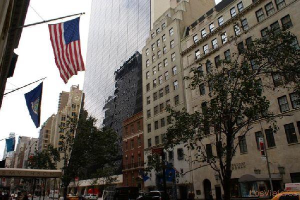 Fifth Avenue overview - New York - USA Vista de la 5ª Avenida - Nueva York - USA