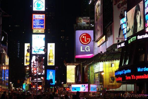 Times Square - Nueva York - USA Times Square - New York - USA