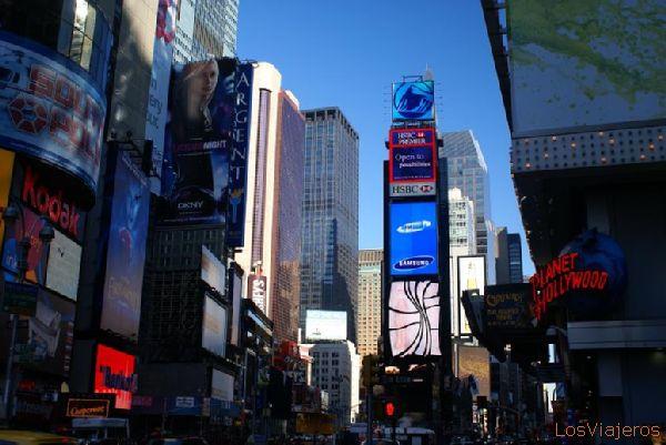 Anuncios en Times Square - Nueva York - USA Times Square Ads - New York - USA