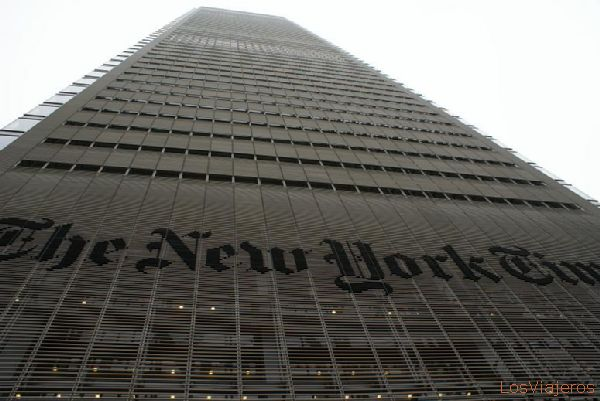 The new New York Times headquarters building - New York - USA Sede actual del New York Times - Nueva York - USA