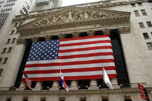 Edificio de Bolsa en Wall Street - Nueva York - USA