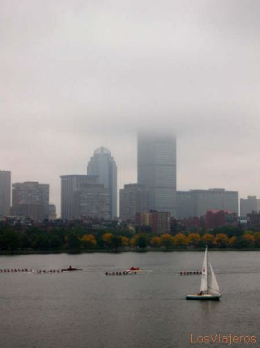 Boston, sight from the Longfelow Bridge - USA Boston, Vista desde el Longfelow Bridge - USA