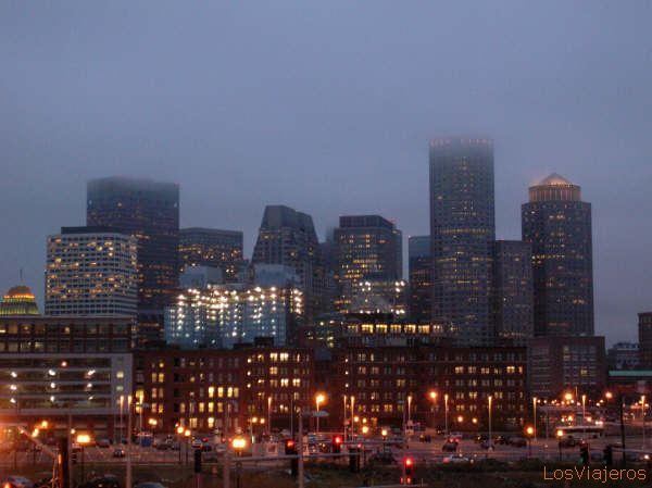 Vista de Boston - USA Boston, skyline - USA
