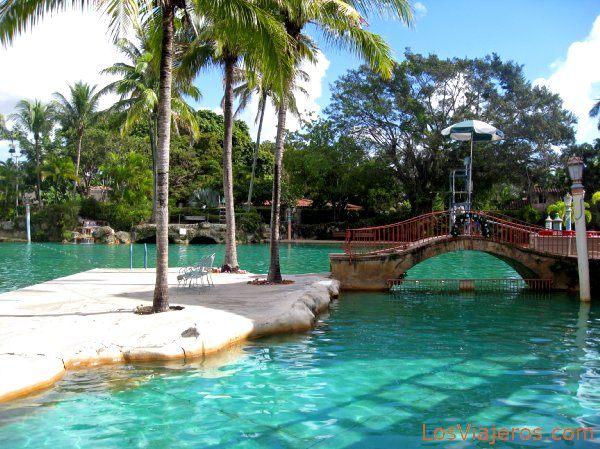 venetian pool in coral gables miami usa piscina
