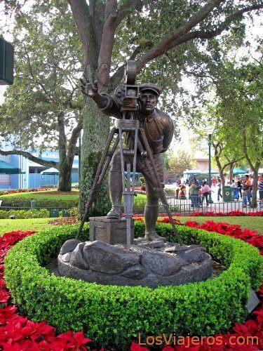 Entrada del parque MGM Studios - Disneyland - USA