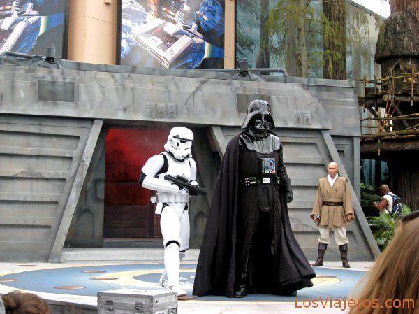 Espectáculo en MGM de La Guerra de las Galaxias - Disneyland - USA